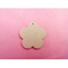 4mm  MDF daisy shape  100mm